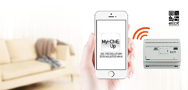MyHOME / MyHOME_Up bei Elektro Haubner GmbH in Roth